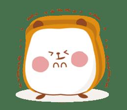 The panda of bread sticker #461633