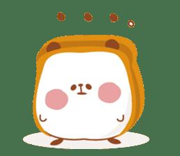 The panda of bread sticker #461634