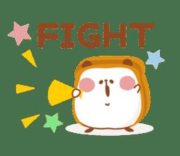 The panda of bread sticker #461637