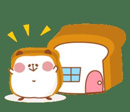 The panda of bread sticker #461641