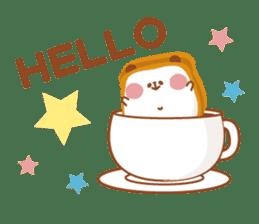 The panda of bread sticker #461643