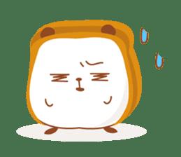The panda of bread sticker #461644