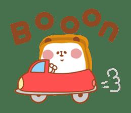 The panda of bread sticker #461647