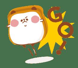 The panda of bread sticker #461648