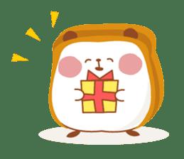 The panda of bread sticker #461650