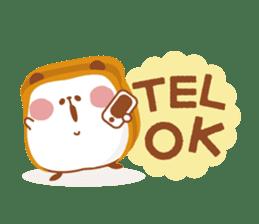 The panda of bread sticker #461652