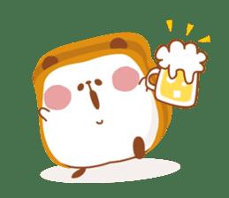The panda of bread sticker #461653