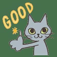 Bicke and his cat friends. sticker #461937