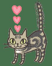 Bicke and his cat friends. sticker #461943