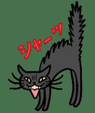 Bicke and his cat friends. sticker #461954
