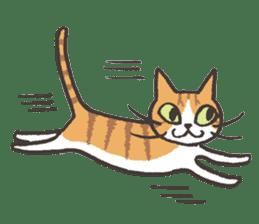 Bicke and his cat friends. sticker #461963