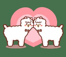 A lovely alpaca sticker #461977