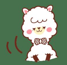 A lovely alpaca sticker #461981