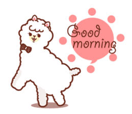 A lovely alpaca sticker #461982