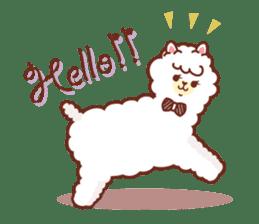 A lovely alpaca sticker #461983