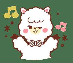 A lovely alpaca sticker #461986