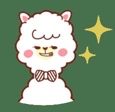 A lovely alpaca sticker #461989