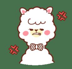 A lovely alpaca sticker #461990