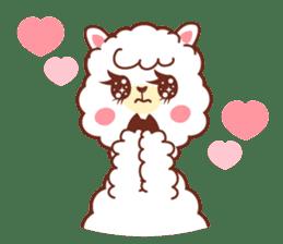 A lovely alpaca sticker #461991