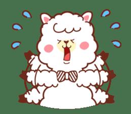 A lovely alpaca sticker #461992