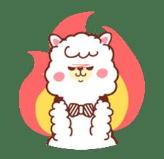 A lovely alpaca sticker #461993