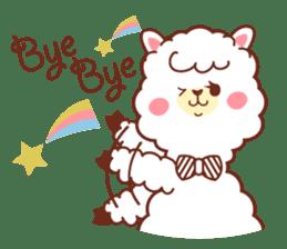 A lovely alpaca sticker #461994