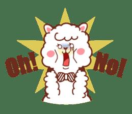 A lovely alpaca sticker #461995