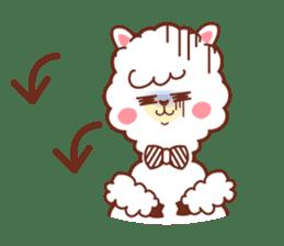 A lovely alpaca sticker #461996