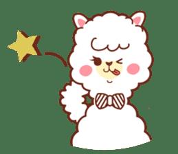 A lovely alpaca sticker #461998