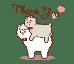 A lovely alpaca sticker #461999