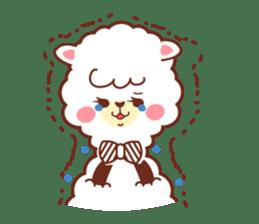 A lovely alpaca sticker #462001