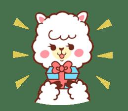 A lovely alpaca sticker #462005