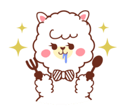A lovely alpaca sticker #462008