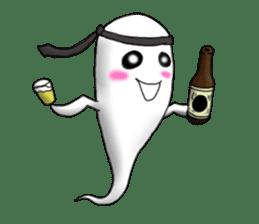 Cute & ghostly sticker #462017