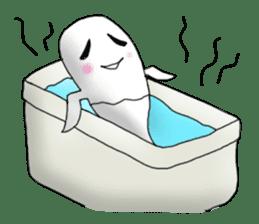 Cute & ghostly sticker #462018