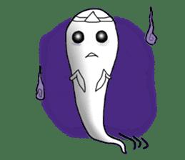 Cute & ghostly sticker #462021