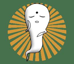 Cute & ghostly sticker #462027