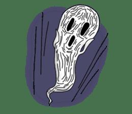Cute & ghostly sticker #462037