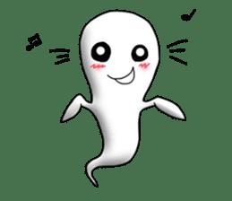Cute & ghostly sticker #462045