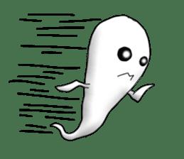 Cute & ghostly sticker #462047