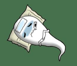 Cute & ghostly sticker #462053