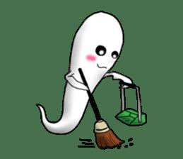 Cute & ghostly sticker #462054