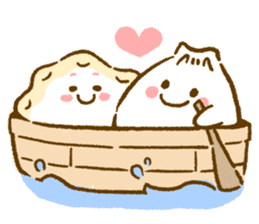 Plopping dumplings sticker #462936