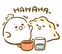 Plopping dumplings sticker #462940
