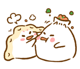 Plopping dumplings sticker #462944