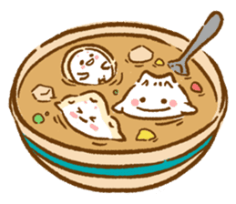 Plopping dumplings sticker #462946