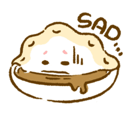 Plopping dumplings sticker #462948