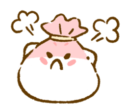 Plopping dumplings sticker #462953