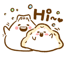 Plopping dumplings sticker #462954