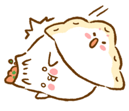 Plopping dumplings sticker #462957
